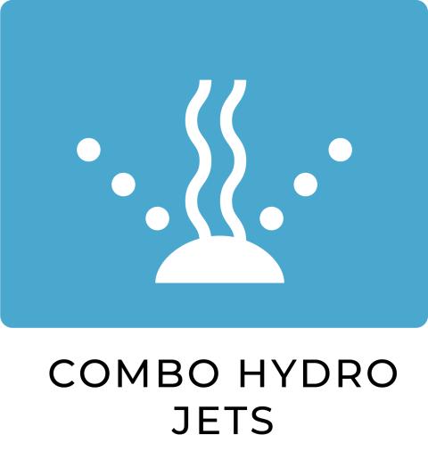 Combo hydro jets