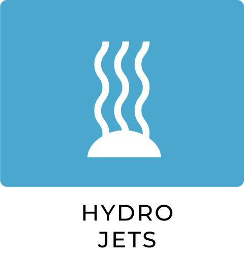 Hydro-air jets