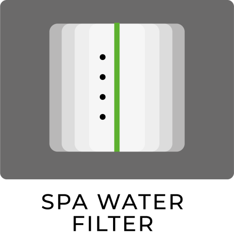 SPA water filter